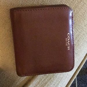 Coach card holder wallet